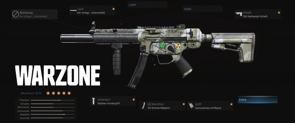 cod warzone bestes mp5 setup season 4