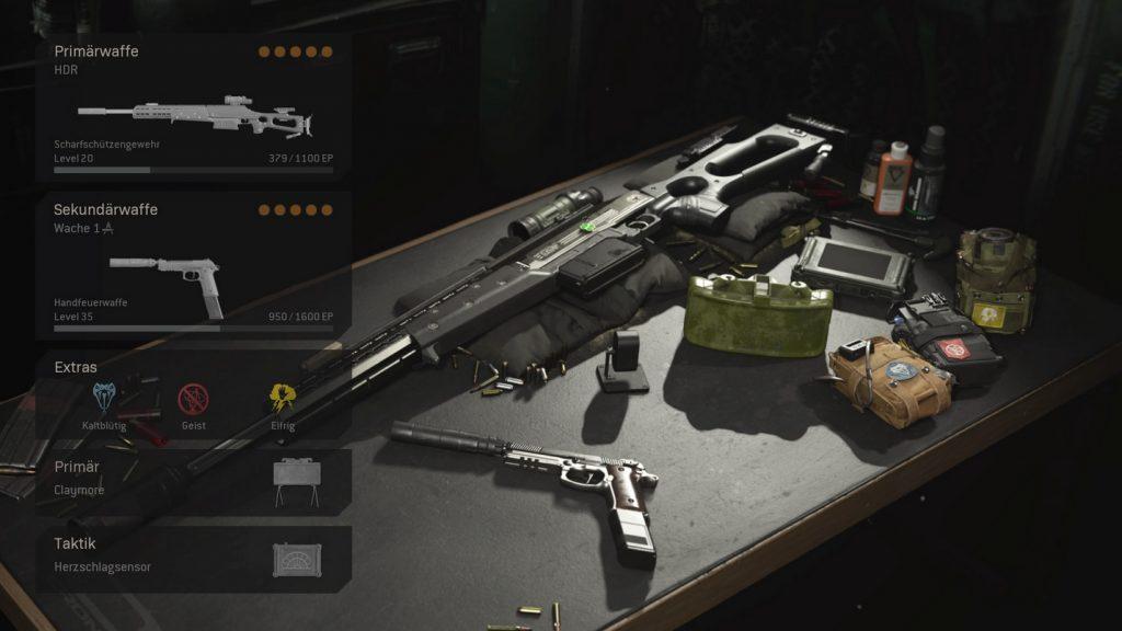 cod warzone trio loadouts HDR setups sniper