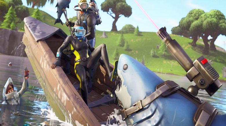 Fortnite-Profi verliert in einem Turnier, weil Haie seinen Loot wegschnappen