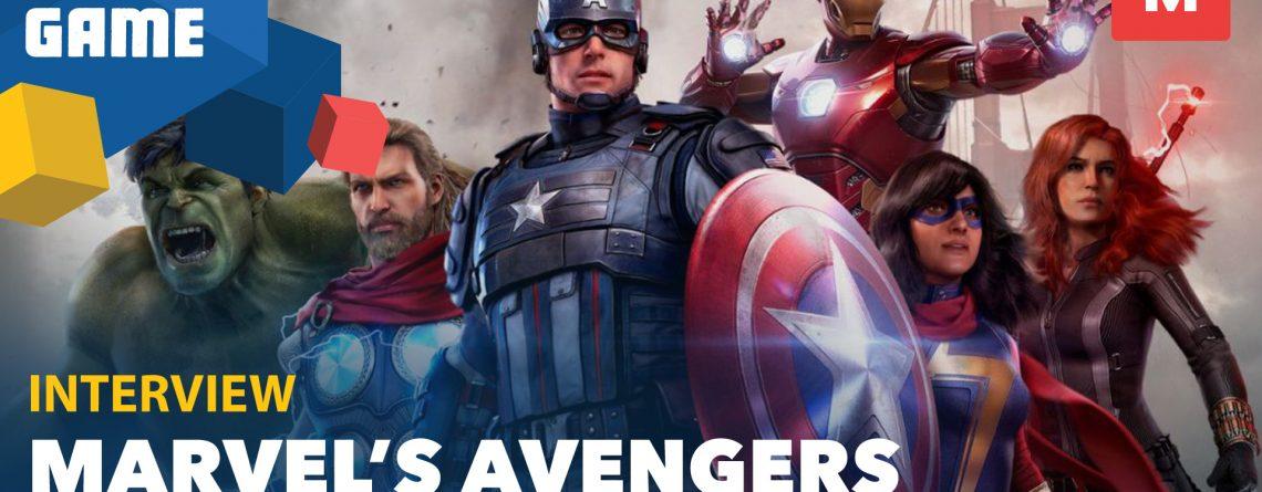 marvel's avengers fyng interview header