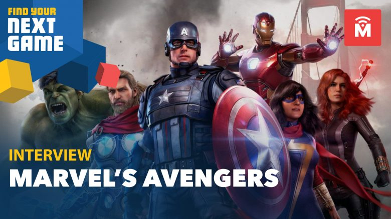 marvel's avengers fyng interview header
