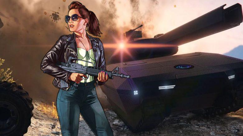 GTA Online: Spieler verwandelt Panzer in furchteinflößende, fliegende Festungen