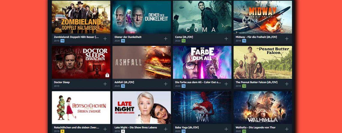 Prime Video Deals: Filme bei Amazon für 99 Cent leihen