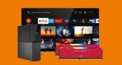 RAM-Kit mit RGB, QLED-TV, externe HDD und mehr bei Saturn reduziert