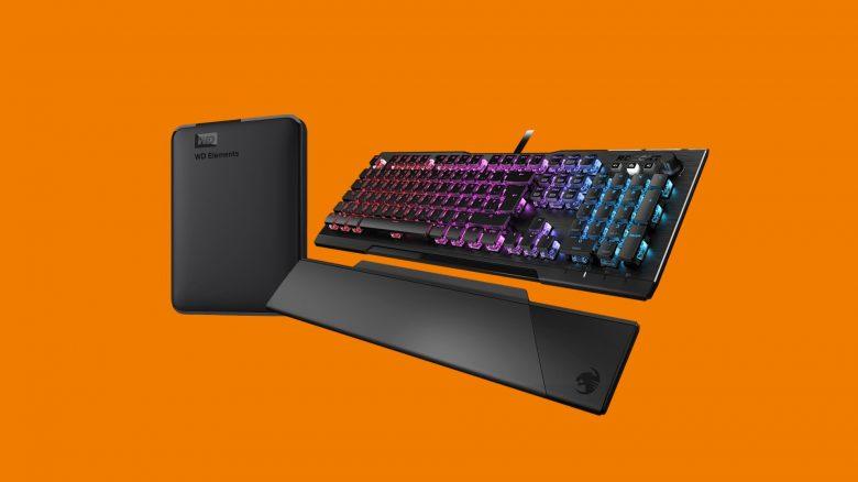 Top Gaming-Tastatur von Roccat und portable HDD bei Saturn reduziert