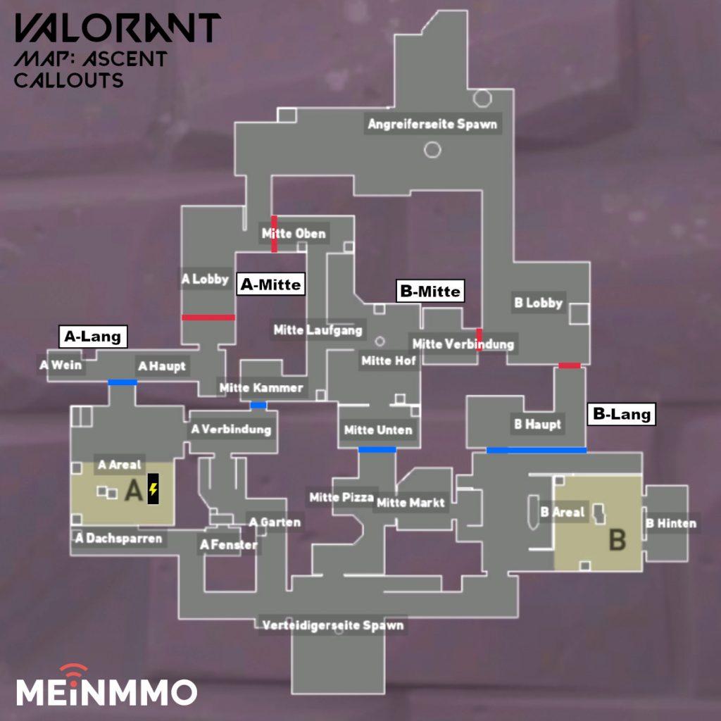 valorant maps ascent callouts karte
