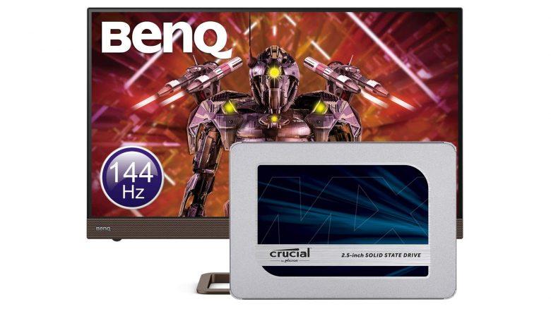 SSD von Crucial, Gaming-Monitor von BenQ & mehr bei Amazon reduziert