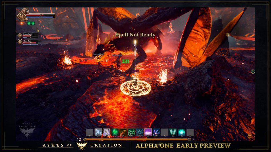 Ashes of Creation Alpha 1 Boss
