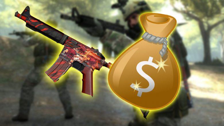 Spieler kauft angeblich CS:GO-Skin für 100.000 $, verkauft nun noch teurer