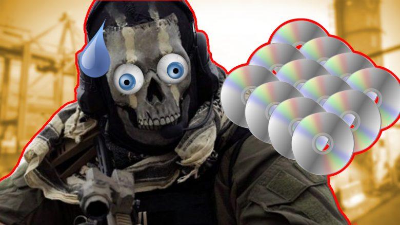CoD Modern Warfare Warzone Ghost CDs Titel