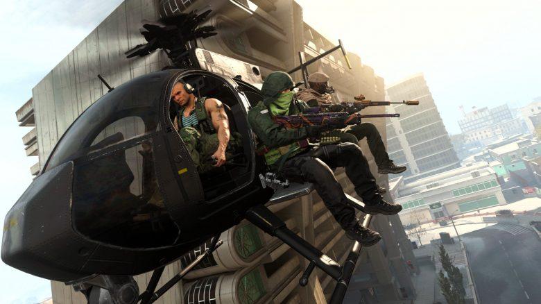 CoD WArzone Modern Warfare Heli Titel