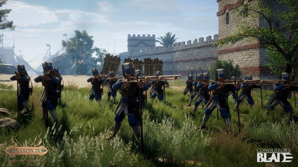 Conquerors Blade Einheit Musketen