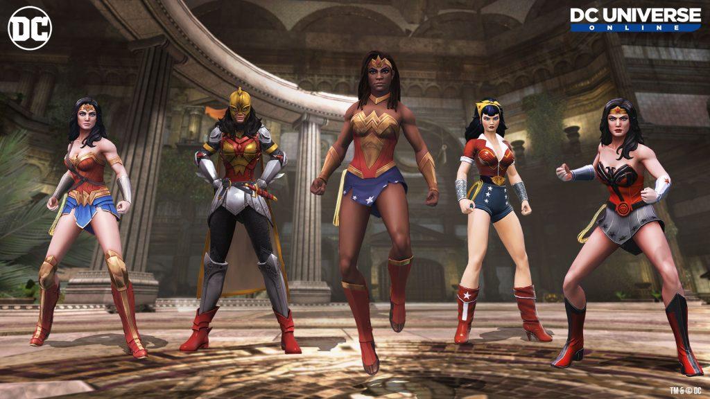 DC Universe Online Wonder Women