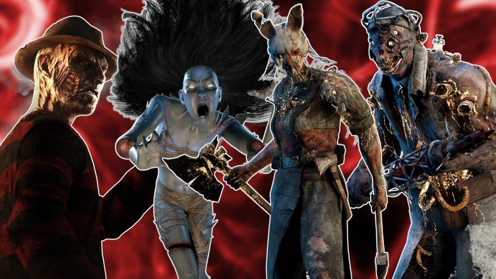 Dead by Daylight Killers Tier list title 1280x720