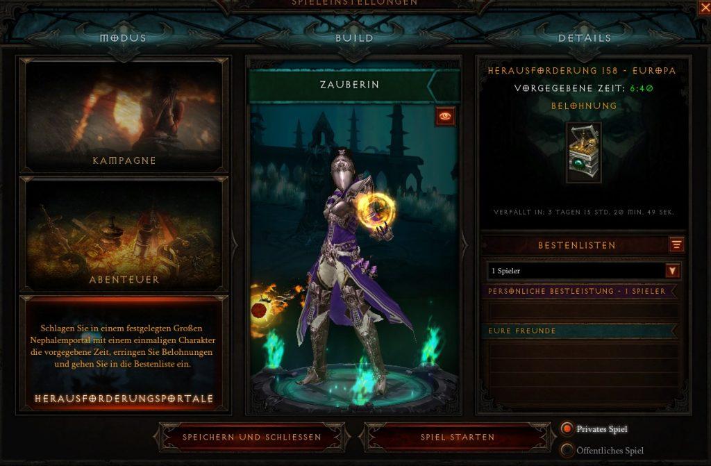 Diablo 3 Herausforderungsportal S21