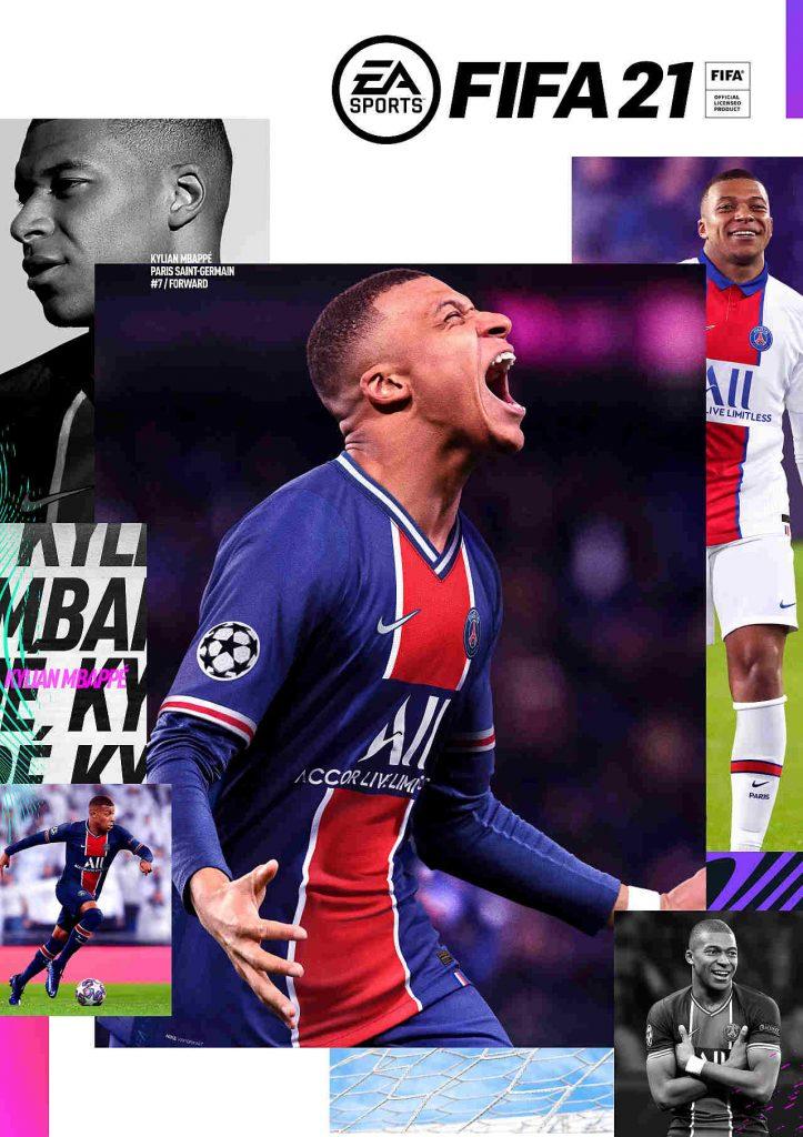FIFA 21 Cover standard edition