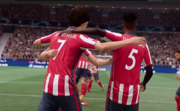 FIFA 21 Atletico Jubel