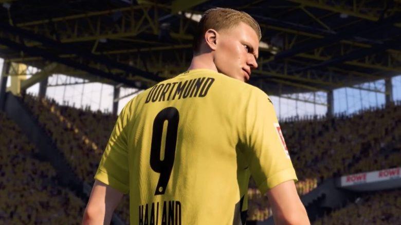 FIFA 21 Haaland Jubel Dortmund