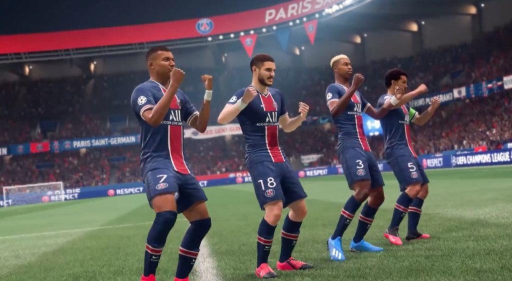 FIFA 21 Jubel