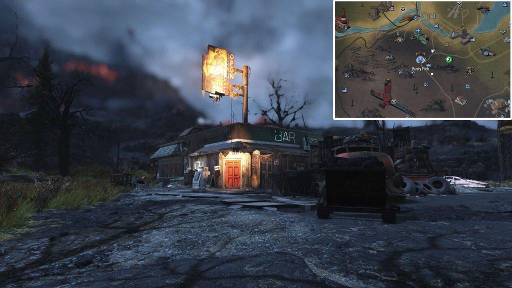 Fallout 76 Rusty Pick Standort