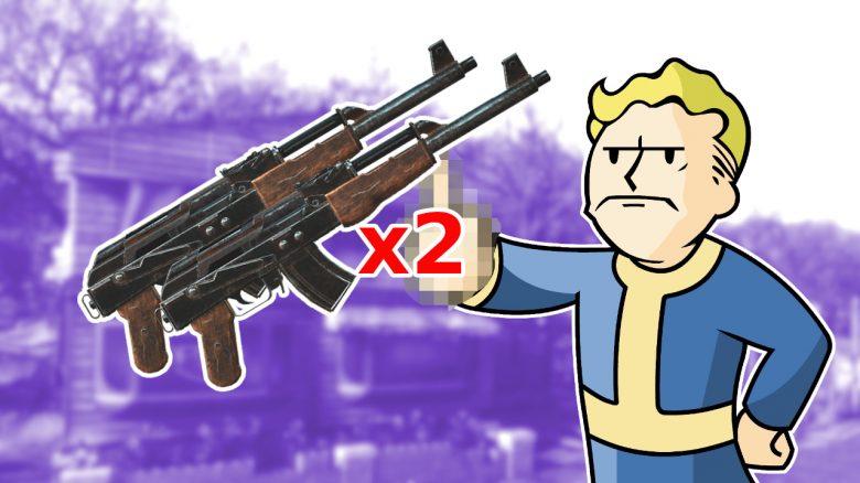 Fallout 76 fck dupers titel handmade
