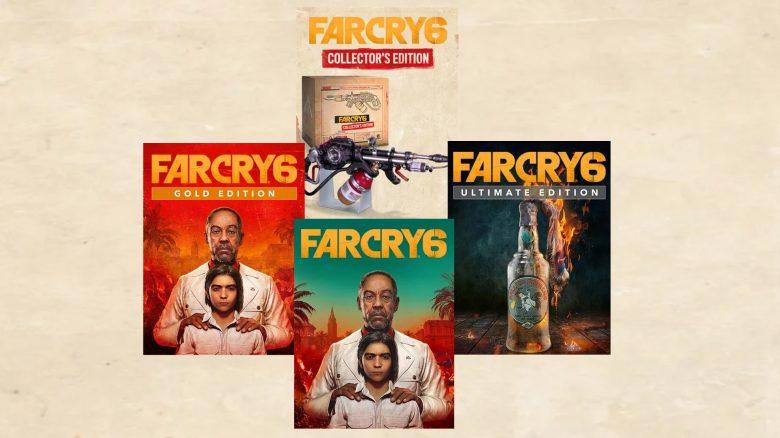 Far cry 6 vorbesteller editionen