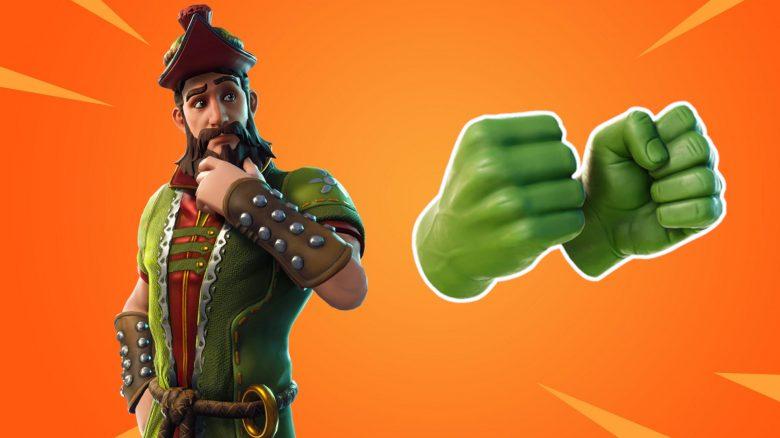 Fortinte Titel Hulk Handschuhe