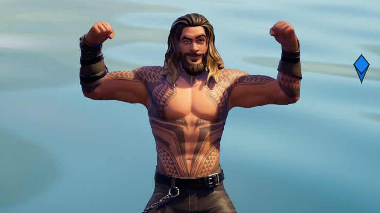 Fortnite Aquaman Wasser Titelk
