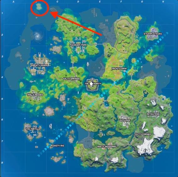 Fortnite-map-season-3-korallen