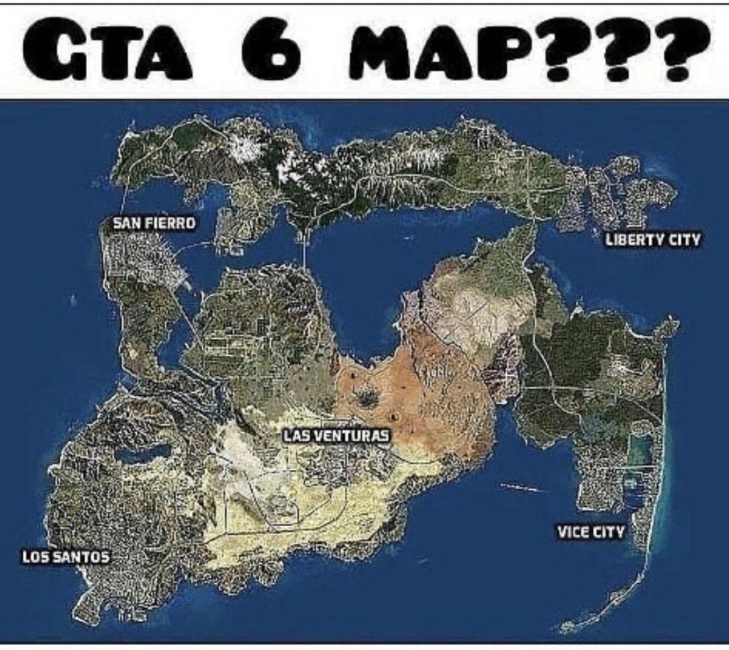 GTA 6 Map Konzept Reddit 2