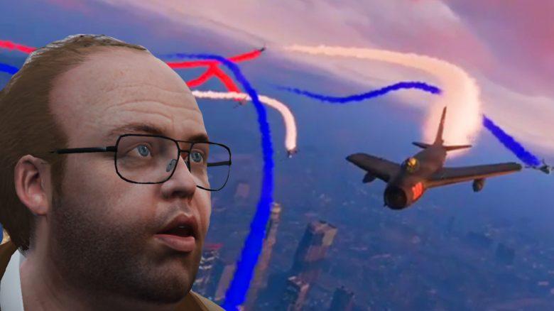 GTA Online Flugshow Lester Titel