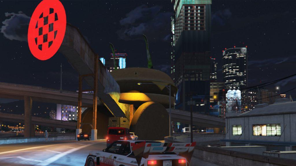 GTA Online Hamburger-Auto