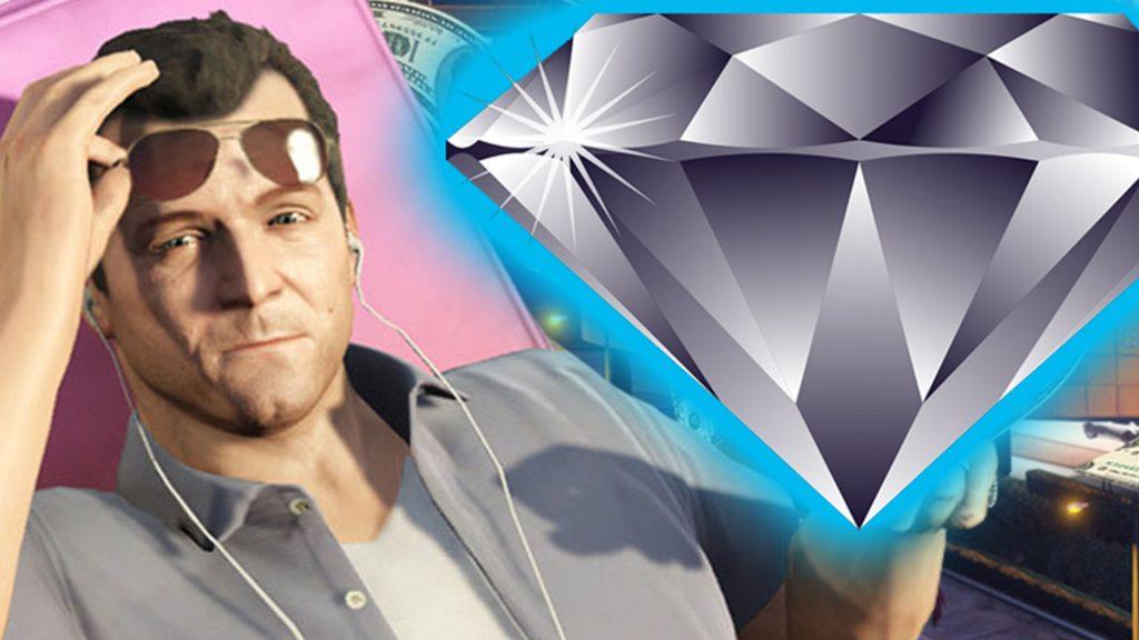 GTA Online Michael Diamant Titel
