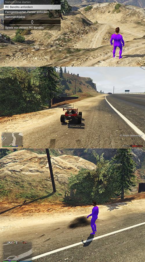 GTA Online RC Bandito Pampa Teleport Trick