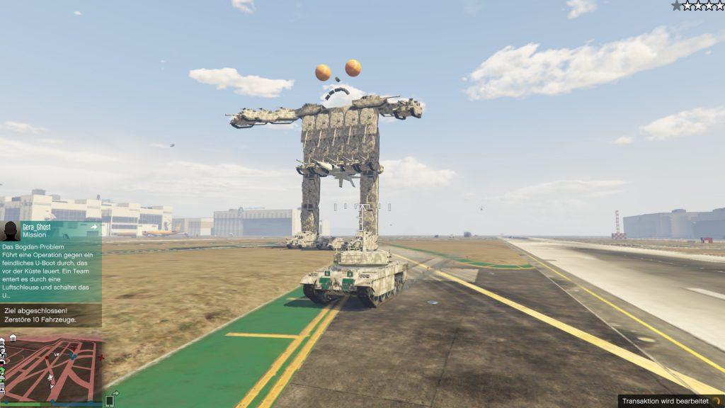 GTA Online Transformer