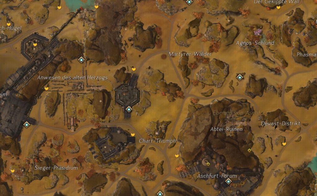 GW2 Weltkarte Herzen