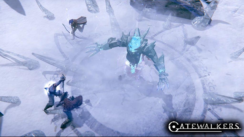 Gatewalkers Screenshot Eis Boss