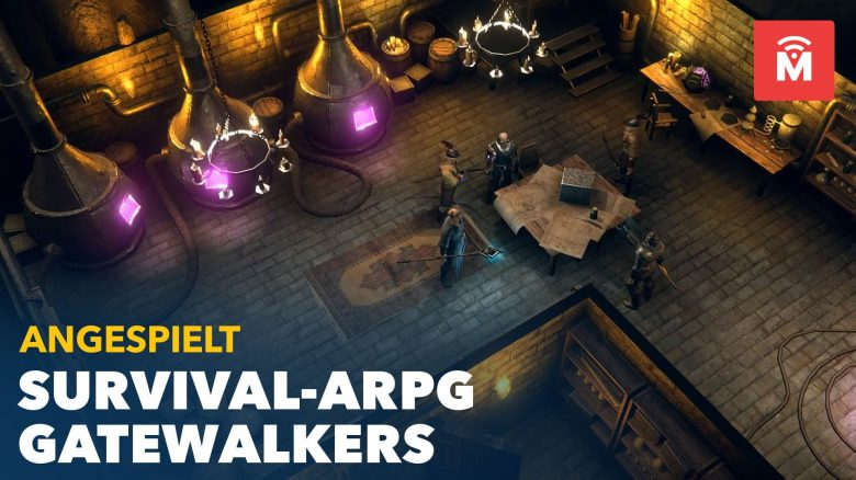 Gatewalkers angespielt Titel