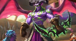 Hearthstone Demon Hunter Wings spread scholomance titel 1280x720