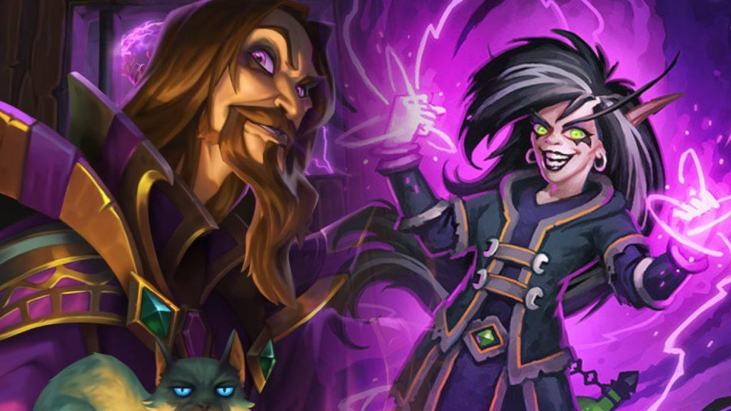 Hearthstone Kel Thuzad Necromancer Cult titel title 1280x720