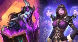 Hearthstone Scholomance Draenei magic jandice clones titel title 1280x720