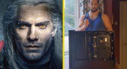 Witcher-Star Henry Cavill baut einen PC – Wir hoffen, dass er bald WoW auf Twitch spielt