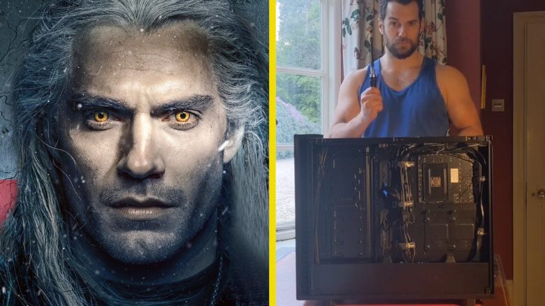 Henry Cavill The Witcher baut PC Titel 2
