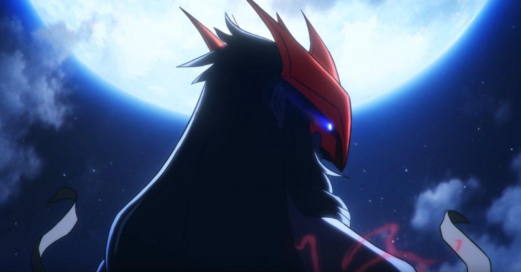 LoL Champion Yone Maske Mond