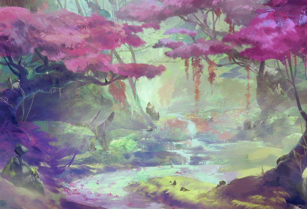 LoL Forest Lillia