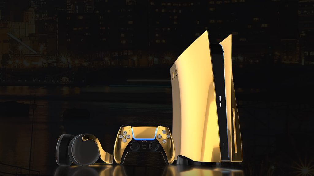 Luxus PS5 in Gold