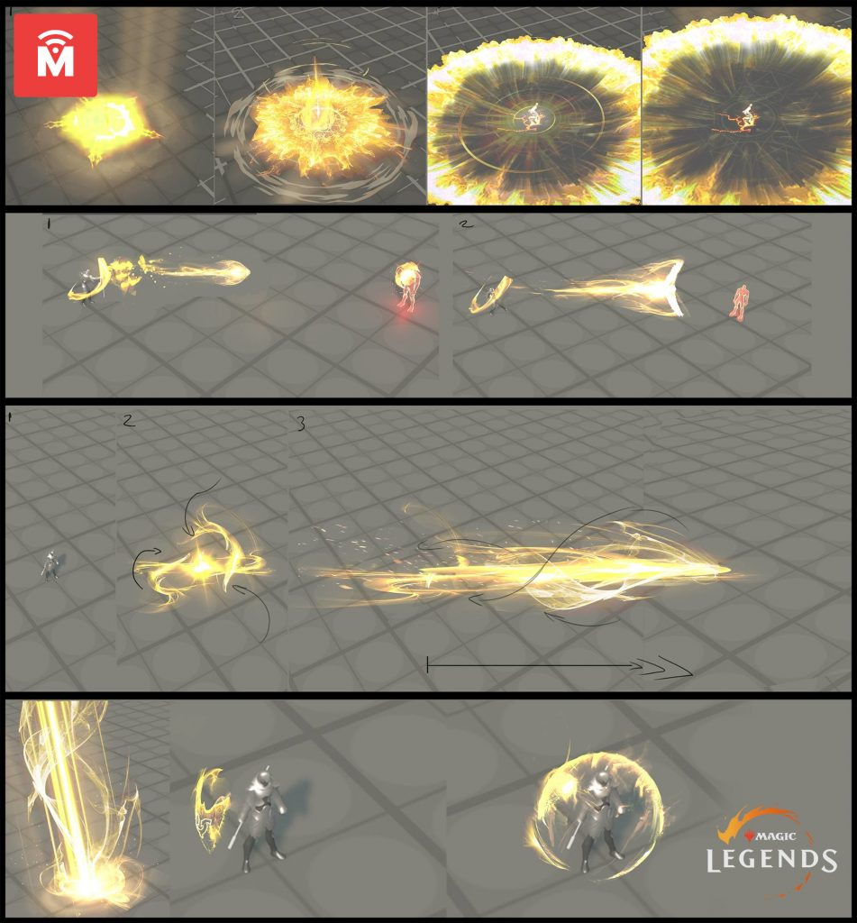 Magic Legends Sanctifier Artwork Zauber 2 MeinMMO