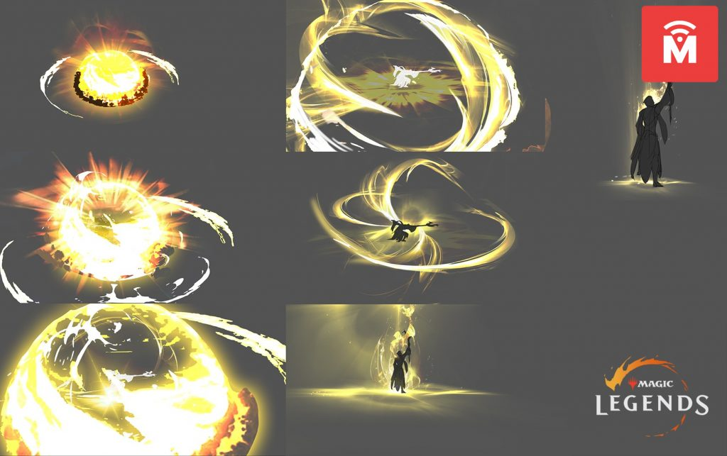Magic Legends Sanctifier Artwork Zauber MeinMMO