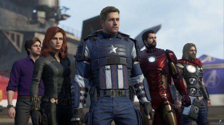Marvels Avengers Gruppe