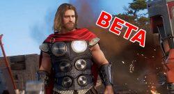 Marvels Avengers Thor Beta Titel
